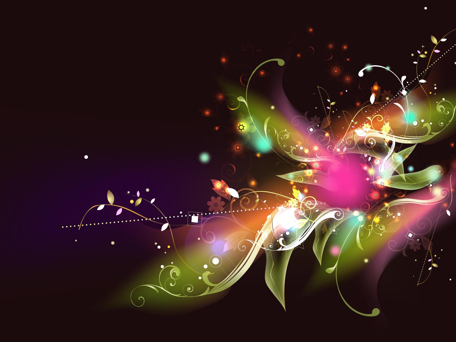 Цвет, Цветы и Бабочки