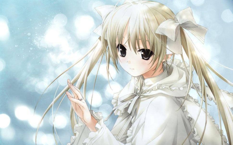Девочки из аниме-14