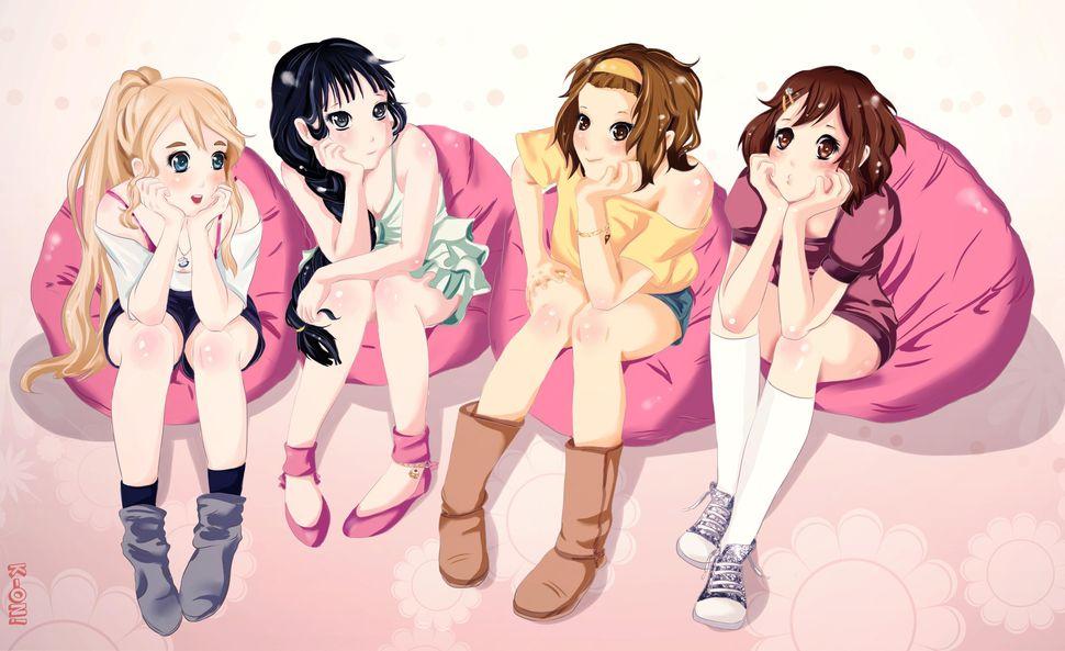 Девочки из аниме-26