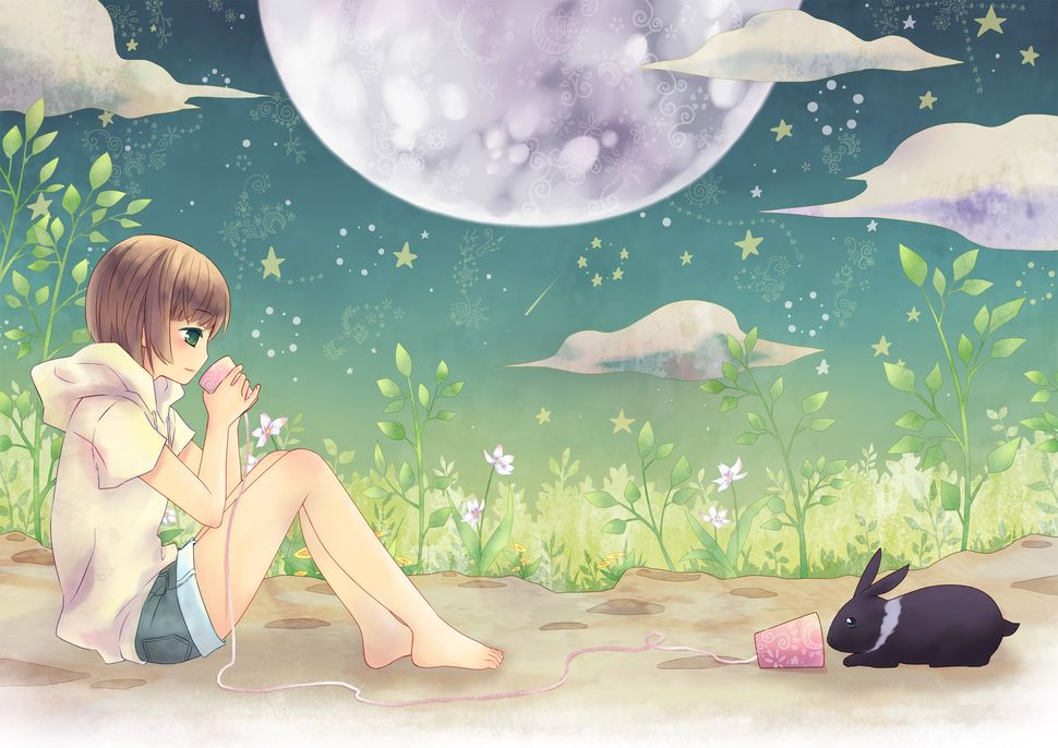 Девочки из аниме-7