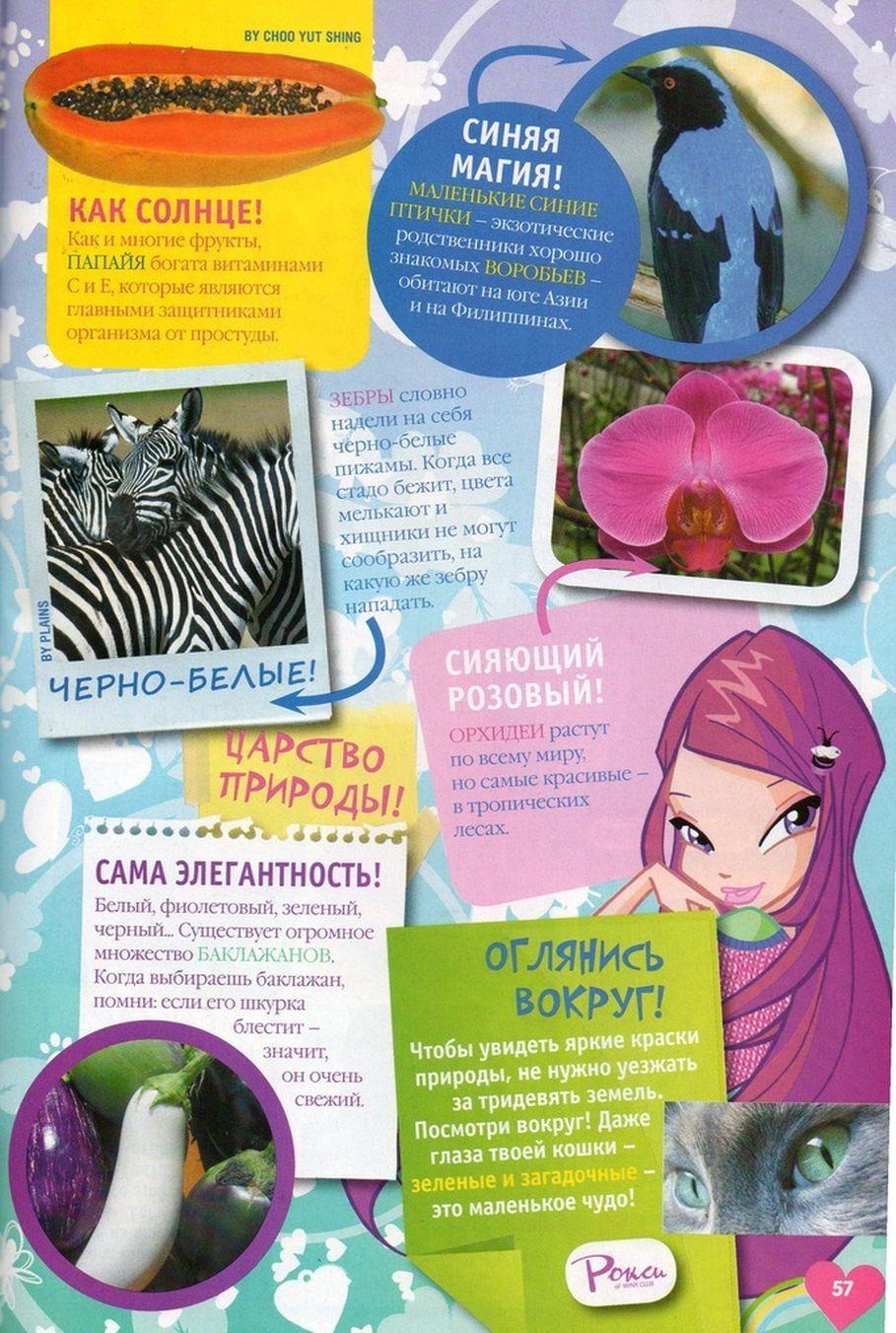 Комикс Винкс Winx - Каменные великаны (Журнал Винкс №11 2011) - стр. 54