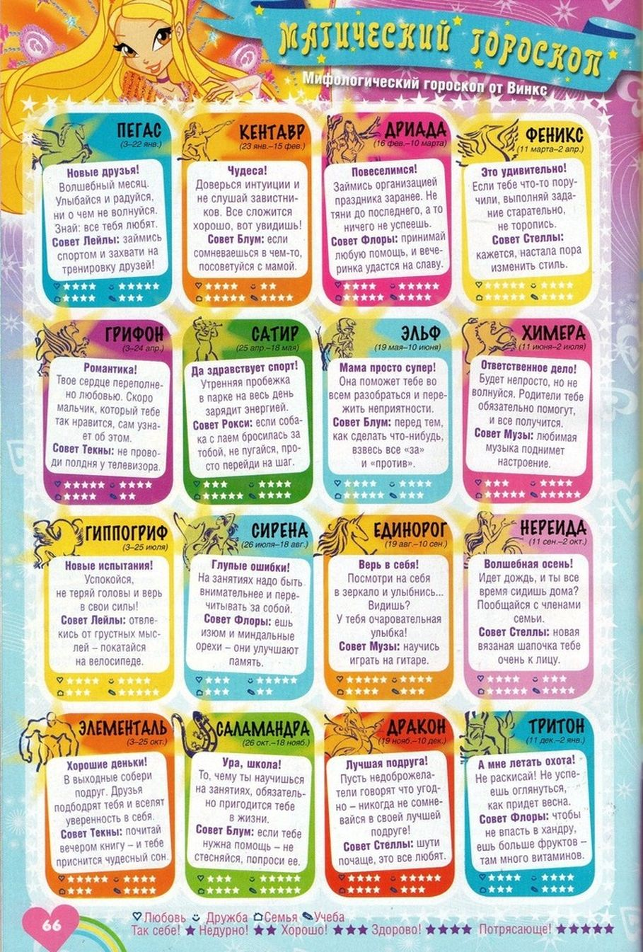 Комикс Винкс Winx - Каменные великаны (Журнал Винкс №11 2011) - стр. 62