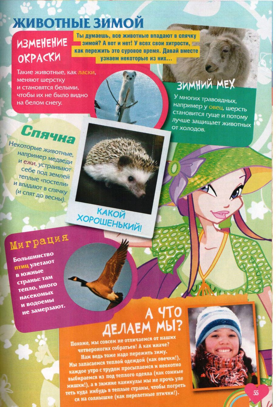 Комикс Винкс Winx - Опасный замысел (Журнал Винкс №10 2011) - стр. 55