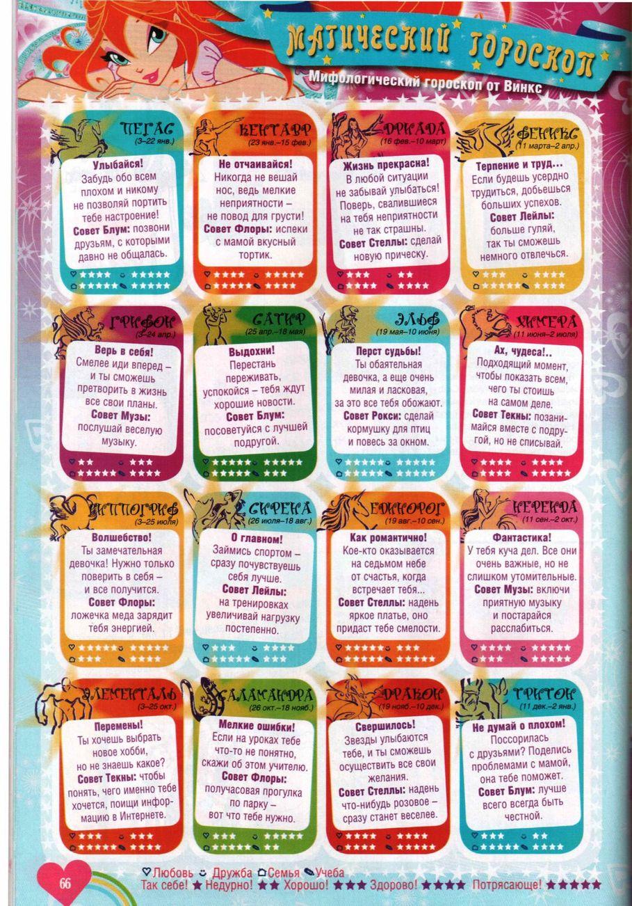 Комикс Винкс Winx - Опасный замысел (Журнал Винкс №10 2011) - стр. 65