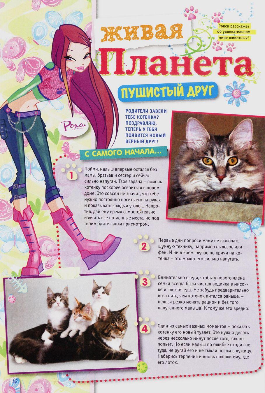 Комикс Винкс Winx - Волшебник Камуд (Журнал Винкс №6 2011) - стр. 12