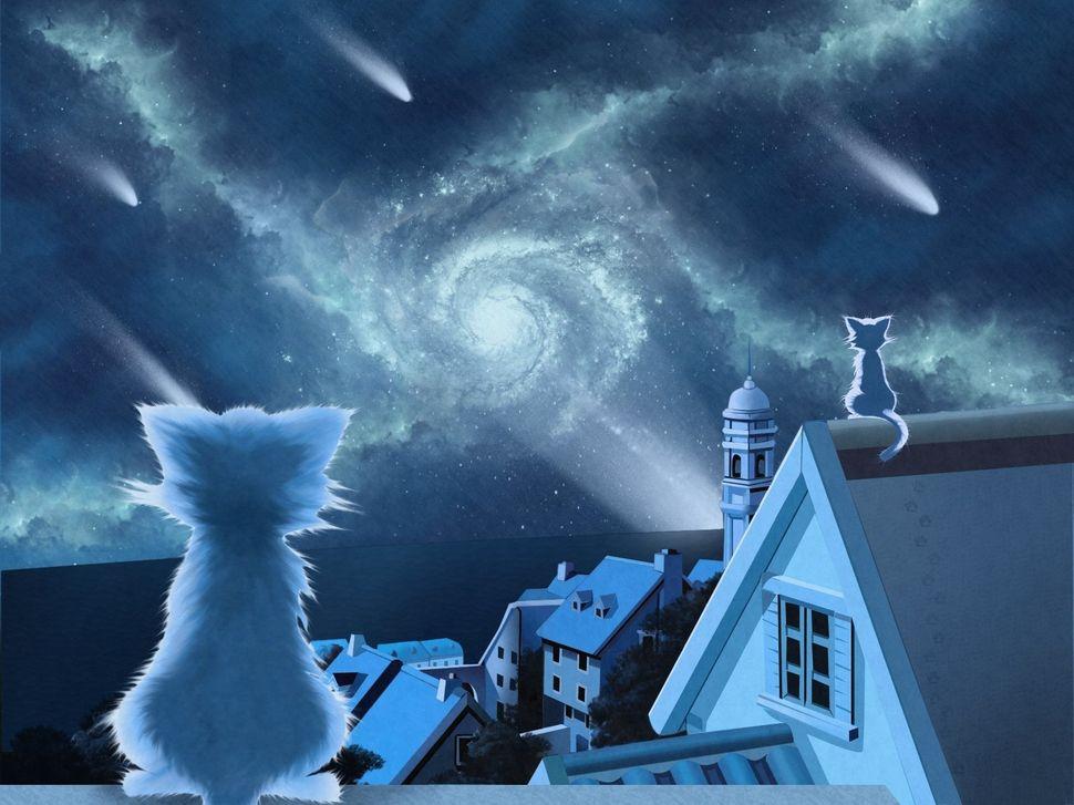 Подборка пейзажей из аниме-1