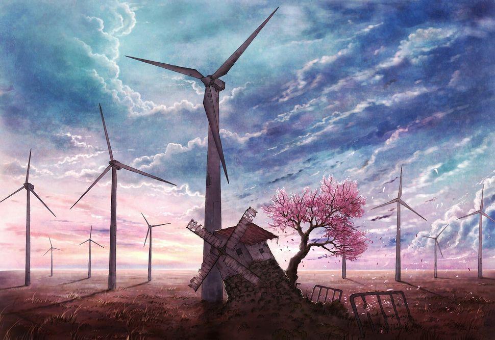 Подборка пейзажей из аниме-2