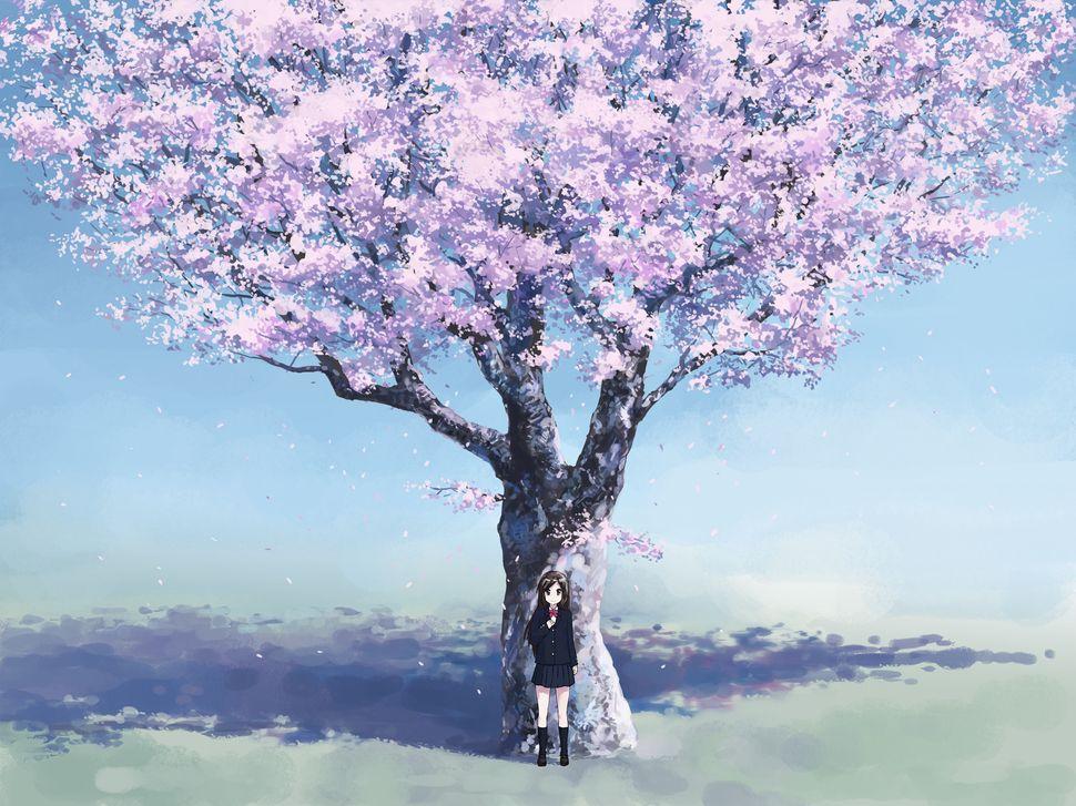 Подборка пейзажей из аниме-5