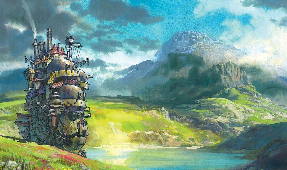 Подборка пейзажей из аниме-6