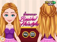 Летние плетеные прически (Summer Braided Hairstyles)