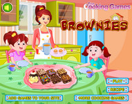 Вкусные печенья (Delicious Brownies)