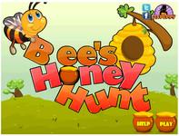 Охота пчелы за медом(Bee Honey Hunt)