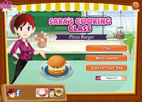 Пицца Бургер от Сары(Sara's Pizza - Burger)