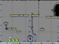 Побег капли из Лаборатории 16B (Blob Escape from Lab 16B)
